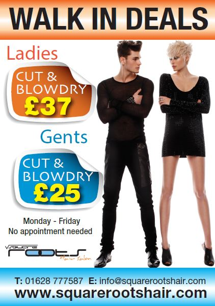Offers Square Roots Hair Salon